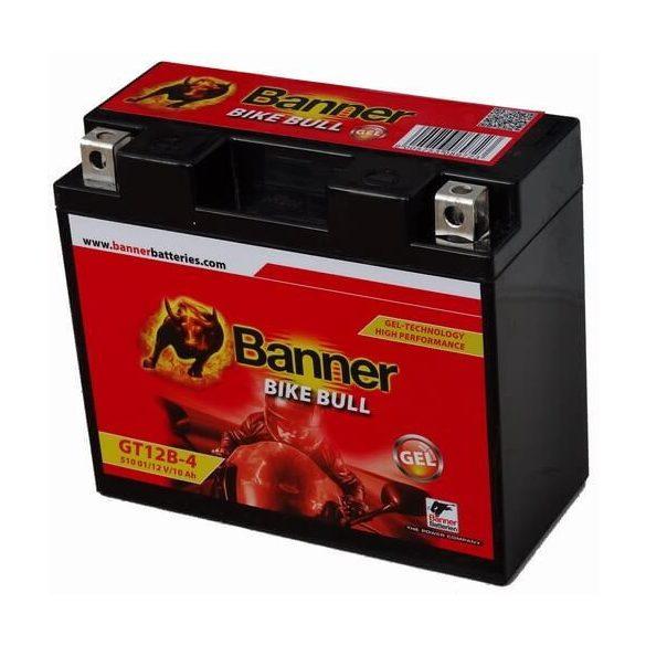 Banner GT12B-4 12V 10Ah motorkerékpár akkumulátor