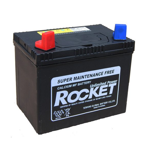 Rocket 30Ah 12V fűnyíró akkumulátor U1-330 bal+