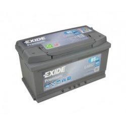 EXIDE Premium EA852 12V 85Ah autó akkumulátor jobb+
