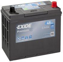 EXIDE Premium EA456 12V 45Ah autó akkumulátor ASIA jobb+