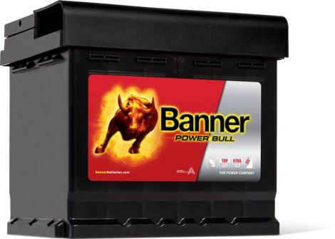 Banner Power Bull 12V 50Ah autó akkumulátor P5003 jobb+