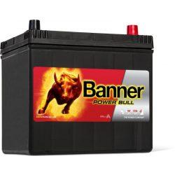 Banner Power Bull 12V 60Ah autó akkumulátor P6068 jobb+