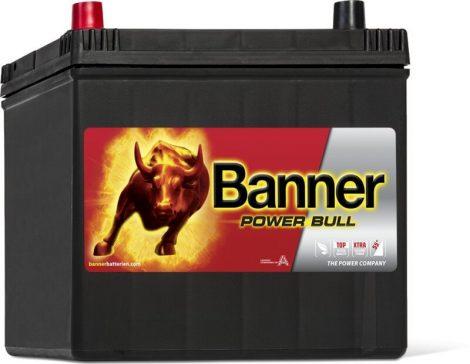 Banner Power Bull 12V 60Ah autó akkumulátor P6069 bal+