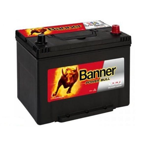 Banner Power Bull 12V 70Ah autó akkumulátor P70 29 ASIA jobb+