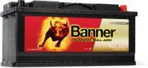 Banner Running Bull 12V 105Ah autó akkumulátor AGM 60501 jobb+ (+AJÁNDÉK!)