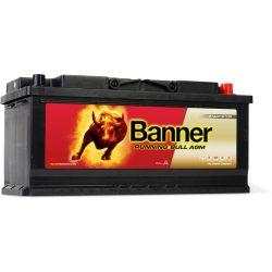 Banner Running Bull 12V 105Ah autó akkumulátor AGM 60501 jobb+