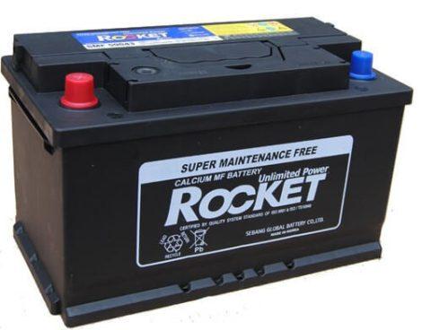 Rocket 90Ah 12V autó akkumulátor 59043 bal+ (+AJÁNDÉK!)