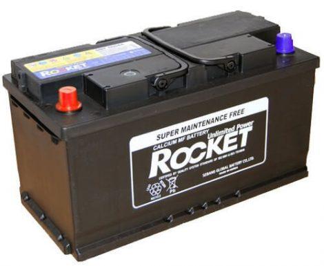 Rocket 100Ah 12V autó akkumulátor 60044R bal+