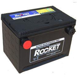 Rocket USA oldalcsavaros 74Ah 12V autó akkumulátor SMF 78-780
