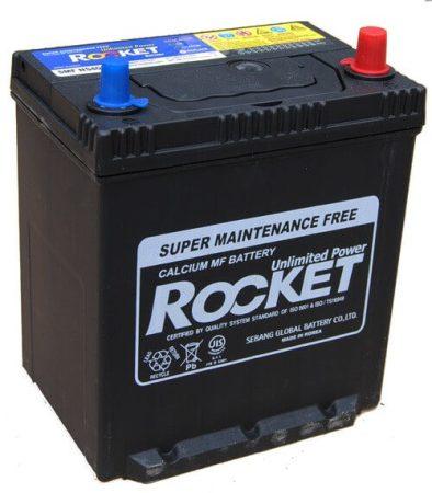 Rocket 35Ah 12V autó akkumulátor NS40ENL ASIA vékonysaru jobb+