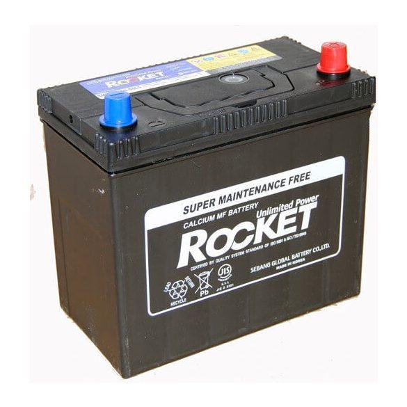 Rocket 45Ah 12V autó akkumulátor NX100-S6LS ASIA jobb+