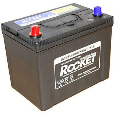 Rocket 75Ah 12V autó akkumulátor NX110-5 ASIA bal+ (+AJÁNDÉK!)