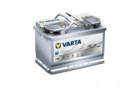 Varta Silver Dynamic AGM 12V 70Ah autó akkumulátor 570901 start-stop jobb+