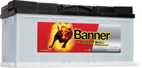 Banner Power Bull Pro 12V 110Ah autó akkumulátor jobb+ P11040
