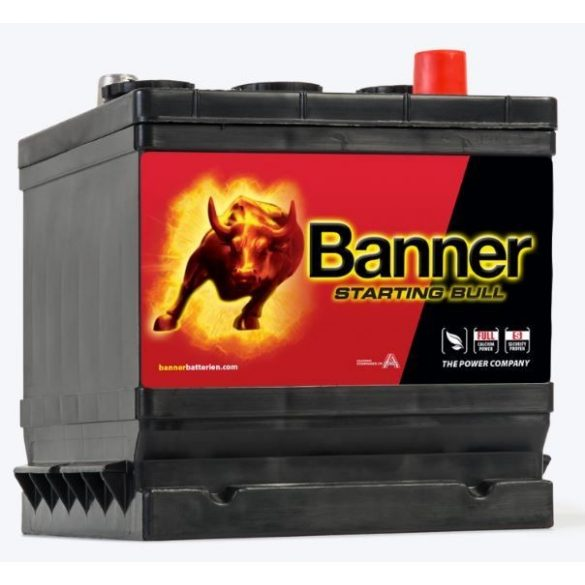 Banner Starting Bull 6V 66Ah autó akkumulátor 066 12 jobb+