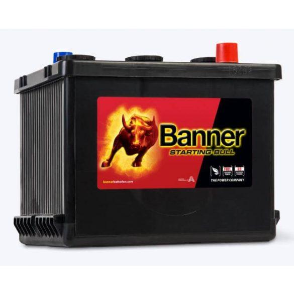 Banner Starting Bull 6V 77Ah autó akkumulátor 077 18 jobb+
