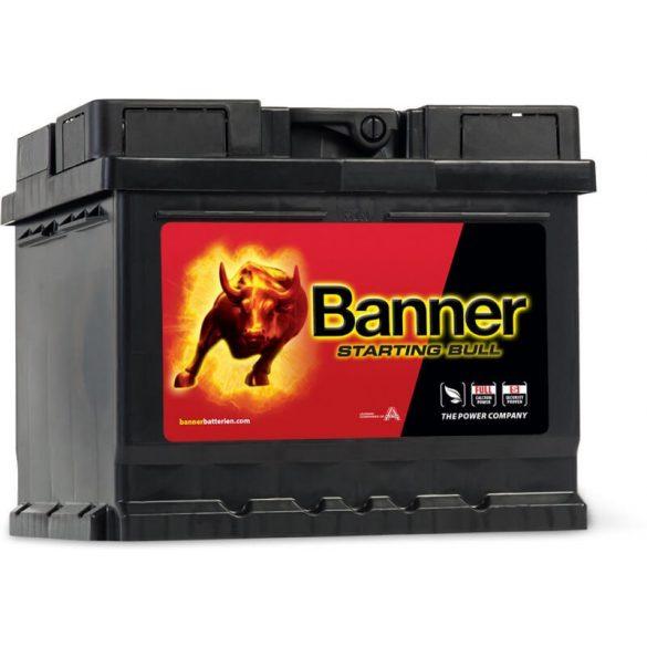 Banner Starting Bull 12V 44Ah 360A autó akkumulátor 544 09 JOBB+
