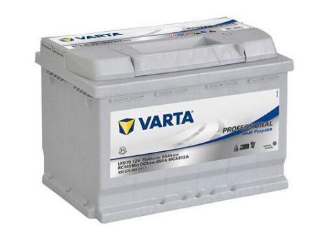 Varta Professional LFD75  930075 autó akkumulátor 12V 75Ah 650A JOBB+