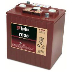 Trojan TE35 6V 245Ah/20h 200Ah/5h munka akkumulátor 3/ 9 GiS 196 DIN
