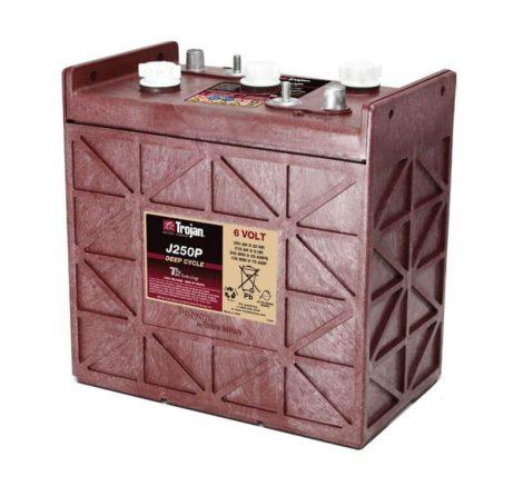 Trojan J250P 6V 250Ah/20H 215Ah/5H munka akkumulátor 3/10 GiS 210