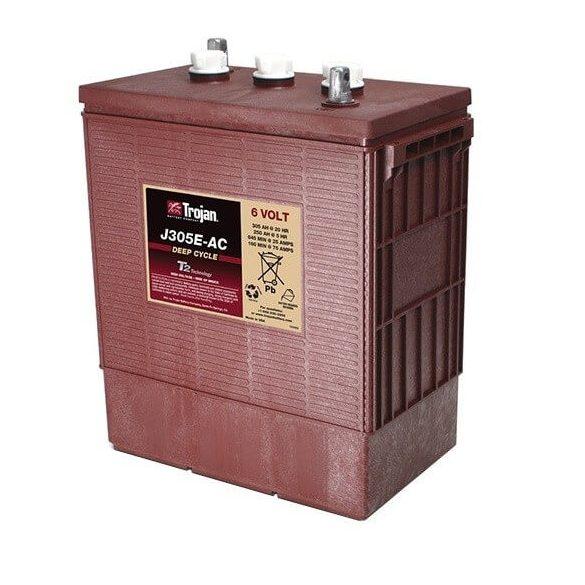Trojan J305E 6V 305Ah/20h 250Ah/5h munka akkumulátor