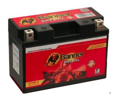 Banner 12V 8Ah YT9B-4 508 01 motorkerékpár akkumulátor