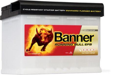 Banner Running Bull 12V 60Ah 560A 56011 autó akkumulátor JOBB+