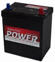 Electric Power 12V 40Ah 300A ASIA JOBB+ vékony autó akkumulátor
