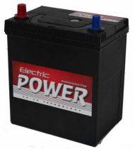 Electric Power 12V 40Ah 300A ASIA BAL+ vékony autó akkumulátor