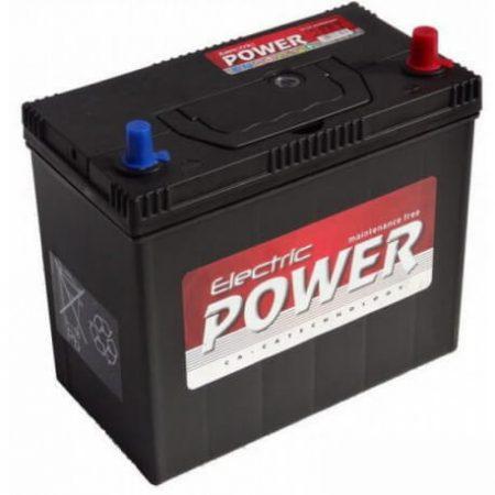 Electric Power 12V 45Ah 430A ASIA JOBB+ autó akkumulátor