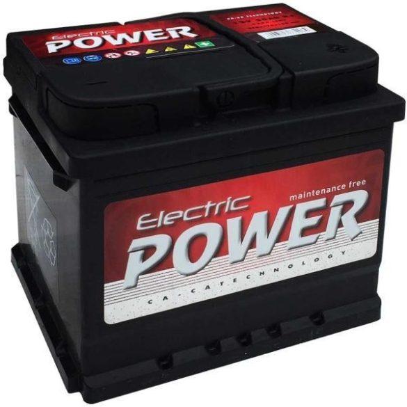 Electric Power 12V 50Ah 420A JOBB+ autó akkumulátor