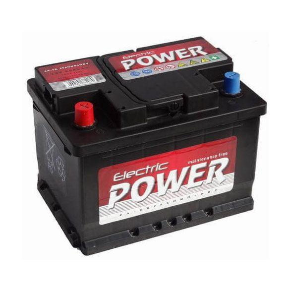 Electric Power 12V 55Ah 420A BAL+ autó akkumulátor