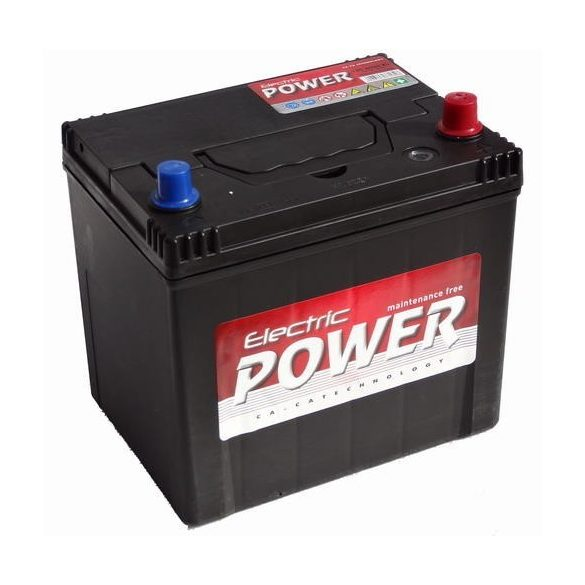 Electric Power 12V 60Ah 500A JOBB+ autó akkumulátor