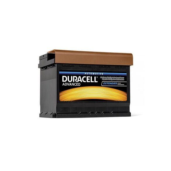 Duracell Prémium 12V 62Ah 550A JOBB+ autó akkumulátor
