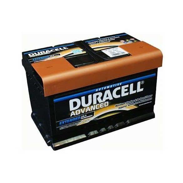 Duracell Prémium 12V 72Ah 670A JOBB+ autó akkumulátor