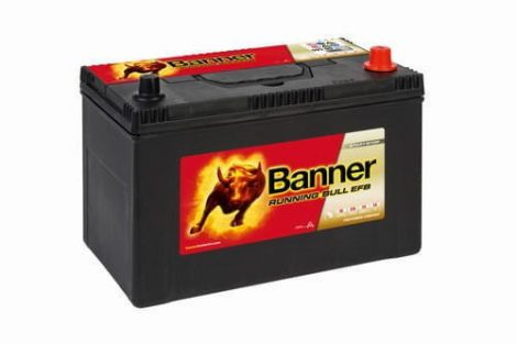 Banner Running Bull 12V 760A autó akkumulátor EFB Asia JOBB+ 59515