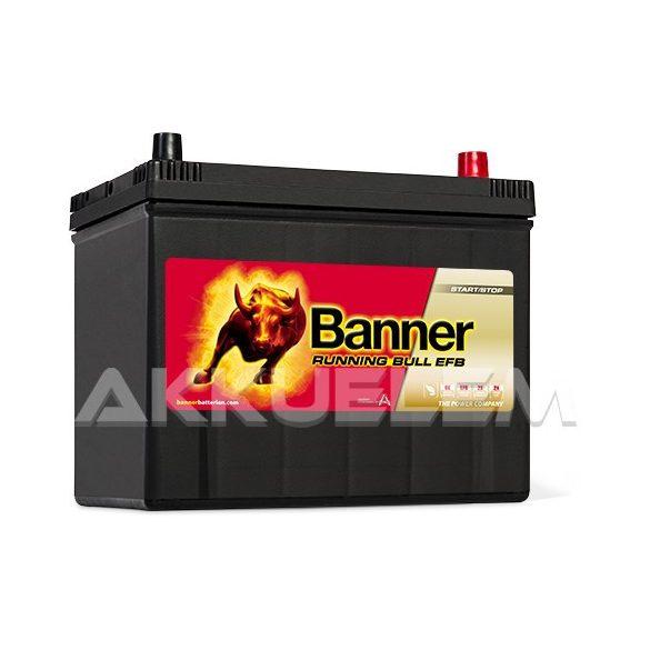 Banner Running Bull EFB 57015 12V 660A 70Ah autó akkumulátor ASIA JOBB+