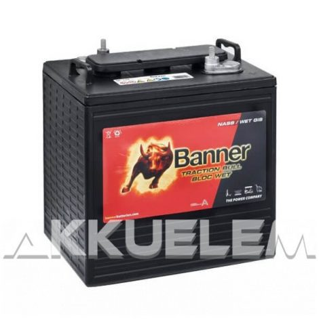 Banner Traction Bull DC 125 6V 240Ah/20h 195Ah/5h akkumulátor