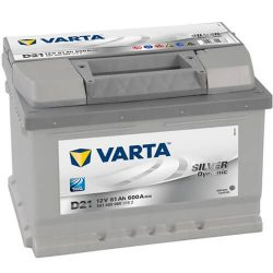 Varta Silver Dinamic 12V 61Ah 600A 561400 autó akkumulátor jobb+