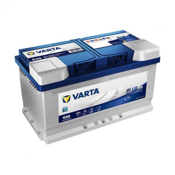 VARTA 12V EFB 75Ah 730A E46 Blue akku 575500 start-stop