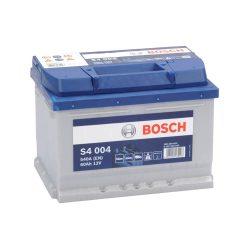 Bosch S4 12V 60Ah 540A autó akku JOBB+