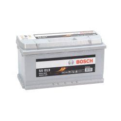 Bosch S5 12V 100Ah 830A autó akku JOBB+
