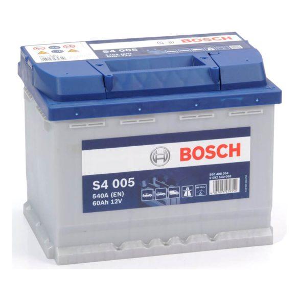 Bosch S4 12V 60Ah 540A autó akkumulátor JOBB+