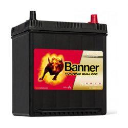 Banner 12V 38Ah 400A 53815 Running Bull EFB akku 190130220mmAsia jobb+ vékony
